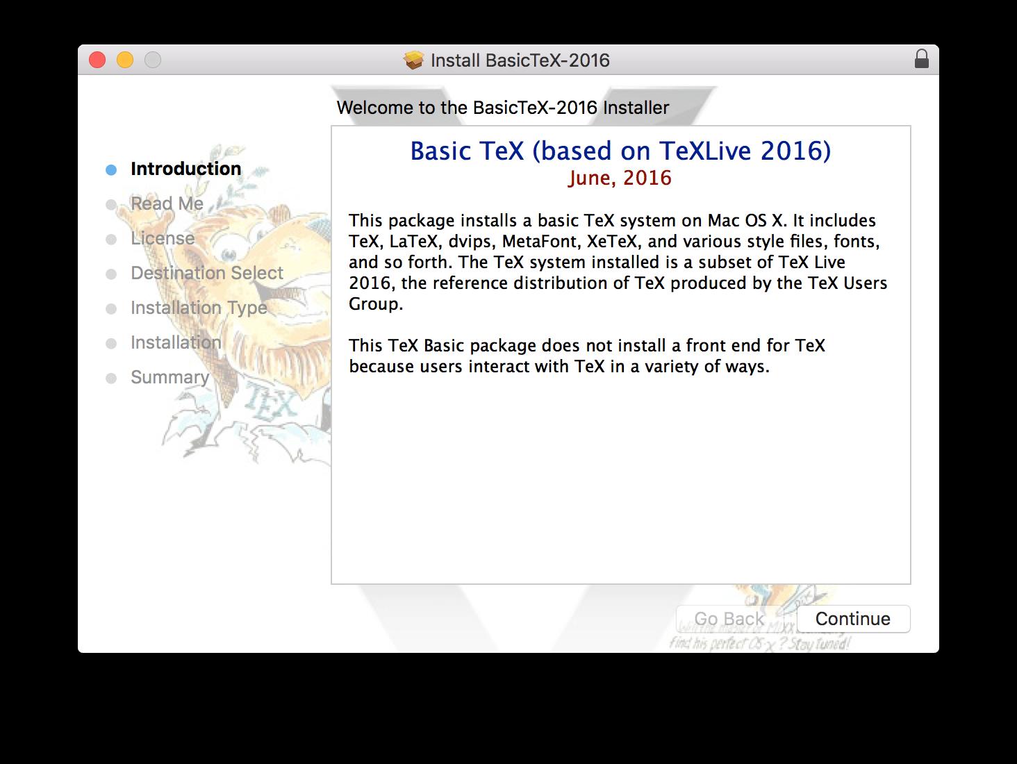 Download And Install Mactex